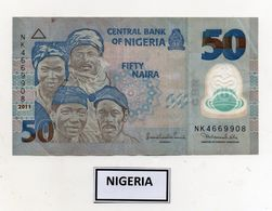 NIGERIA - 2011 - Banconota Da 50 Naira -  In Polimero - Usata - (FDC7811) - Nigeria