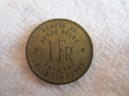 Congo Belge 1 Franc 1947 - Congo (Belge) & Ruanda-Urundi
