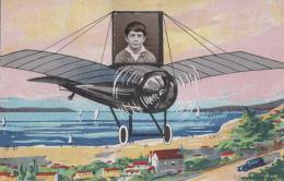 Fantaisie - Aviation - Avion - Photo D'Ecole - Garçon - Fantasia