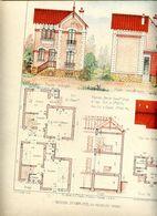 94 Maison D'Employé Au PERREUX - Planche D'Architecte (Habitations Economiques) - Le Perreux Sur Marne
