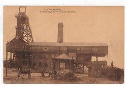6   CHARLEROI  Charbonnage De L'Avenue De Waterloo 1924 Marcovici - Charleroi