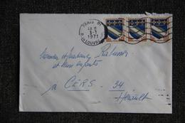 Lettre De FRANCE ( PARIS)  - N° 953 X 3 - France