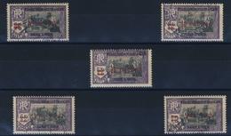 INDE   N° A 92  /  93 /  94 / 96  /  97 - Inde (1892-1954)