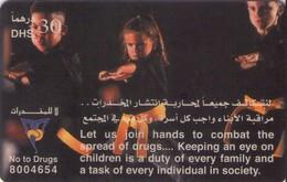 TARJETA TELEFONICA DE EMIRATOS ARABES UNIDOS. PREPAGO. (159). - Emiratos Arábes Unidos