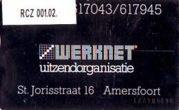 Telefoonkaart  LANDIS&GYR  NEDERLAND * WERKNET RCZ-001.02 * AMERSFOORT *  ONGEBRUIKT * OPLAGE 250 - Privé