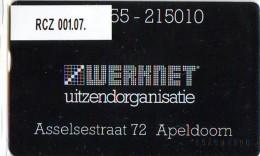 Telefoonkaart  LANDIS&GYR  NEDERLAND * WERKNET RCZ-001.07 * APELDOORN * ONGEBRUIKT * OPLAGE 100 - Nederland