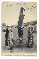Campagne De 1914 - Artillerie Lourde : Pièce De 155  C.T.R. (Rimailho) -     - L 1 - Equipment