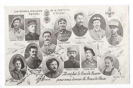 Les Soldats Aveugles De La Famille Du Rameau D'Olivier, Ils Ont Fait La Grande Guerre Pour Nous Donner La Gr -     - L 1 - Patriotic