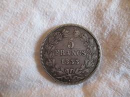 France 5 Francs 1833 A - France