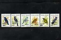 MALAWI, 2016-2017, BIRDS, O/P, NEW VALUE,  6v. MNH** - Oiseaux