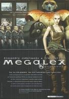 Dépliant Pub. Megalex Et Technopéres De Jodorowsky - Janjetov Et Beltran - Megalex