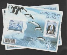 """FRANCE / 2009 / Y&T N° 4350/4351 ** En Bloc Ou F4350 ** (Feuillet """"Protection Des Pôles"""") X 2 - Mint/Hinged"""