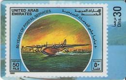 TARJETA TELEFONICA DE EMIRATOS ARABES UNIDOS. PREPAGO. (171). - Emiratos Arábes Unidos