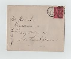 GREAT BRITAIN LEICESTER JUBILEE 6d BASUTULAND 1887 - Zuid-Afrika