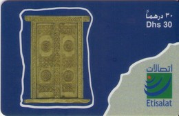 TARJETA TELEFONICA DE EMIRATOS ARABES UNIDOS. PREPAGO. (172). - Emiratos Arábes Unidos