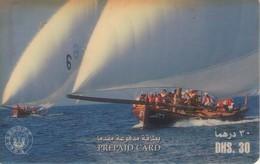 TARJETA TELEFONICA DE EMIRATOS ARABES UNIDOS. PREPAGO. (173). - Emiratos Arábes Unidos