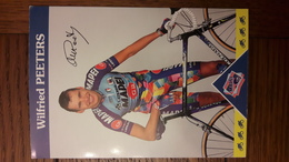 Wilfried PEETERS Mapei 1997 - Radsport