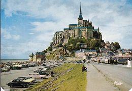 MONT St MICHEL   L'arrivée - Le Mont Saint Michel
