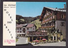 74  LA CLUSAZ  Hôtel Des Aravis  1er Prix Hôtels Fleuris 1959  2 Scans - La Clusaz