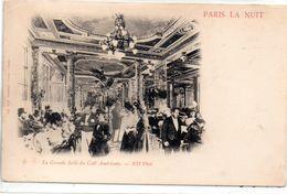 Paris La Nuit : Café Américain - Paris La Nuit