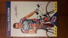 Franco BALLERINI Mapei 1997 - Radsport