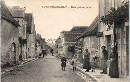 36 - FONTGOMBAULT -- Rue Principale - France