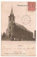 CPA BELGIQUE FRASNES LEZ COUVIN  L EGLISE 1904 RARE BELLE CARTE !! - Couvin