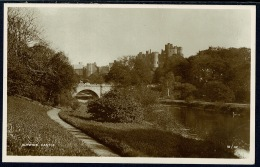 RB 1188 -  Early Postcard Alnwick Castle From The River - Northumberland - Inglaterra