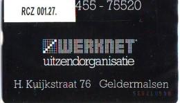 Telefoonkaart  LANDIS&GYR  NEDERLAND * WERKNET RCZ-001.27 * GELDERMALSEN * ONGEBRUIKT * OPLAGE 100 - Nederland