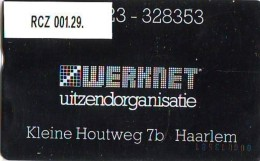 RARE TELEFOONKAART LANDIS&GYR  NEDERLAND * WERKNET RCZ-001.29 * HAARLEM * ONGEBRUIKT * OPLAGE 50 - Nederland