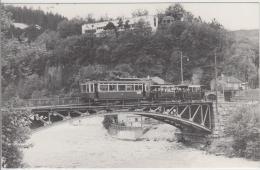 AK - Mittelgebirgsbahn Linie 6 Auf Der Sillbrücke In Innsbruck - 1967 - Innsbruck