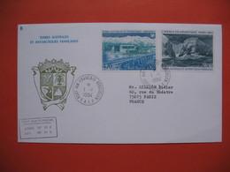 TAAF Lettre Port-Aux-Français - Kerguelen  Pour La France N° PA79 Et 80   Du 1/1/1984 - Briefe U. Dokumente