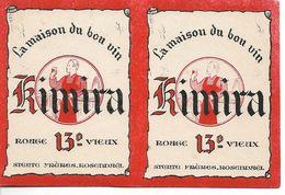 Buvard Kimira, La Maison Du Bon Vin. Stente Frères, Rosendaël. - Liqueur & Bière