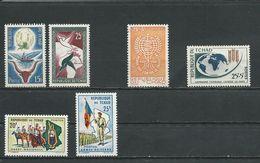 TCHAD  Scott 64-65, B1, B2, 104-105 Yvert 60-61, 79, 83, 102-103 (6) ** Sauf 79*VVLH Cote 5,60$ 1959-64 - Tchad (1960-...)