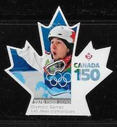 CANADA 2017  CANADA 150th  OLYMPIC GAMES      VANCOUVER   DIE CUT - Carnets