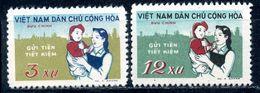 VIETNAM NORTHERN 1961 172-173 National Savings Company - Vietnam