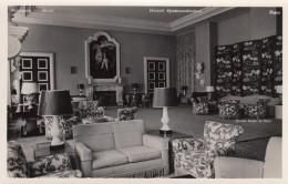 Petropolis Brazil, Hotel Quitandinha 'Grande Salao De Estar' Interior View, C1940s Vintage Photo - Places