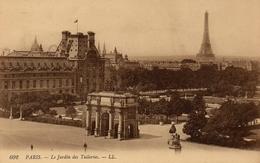 CPA 75 PARIS Le Jardin Des Tuileries - Parks, Gardens