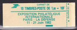 France, Carnet , 2155-C3,  Conf 9 ,  Cote 14€,daté Du 18.9.81( 18001/7) - Carnets