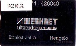 TELEFOONKAART LANDIS&GYR  NEDERLAND * WERKNET RCZ-001.32 * HENGELO * ONGEBRUIKT * OPLAGE 150 - Privé