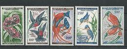 TCHAD  Scott C2-C6 Yvert PA2-PA6 (5) **  Cote 44,00$ 1961 - Tchad (1960-...)