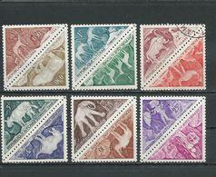 TCHAD  Scott J23-J34 Yvert Taxe 23-34 (12) *LH Et O  Cote 12,60$ 1962 - Tchad (1960-...)