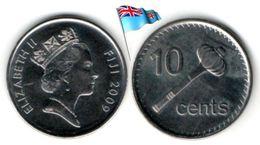 Fidji - 10 Cents 2009 (UNC) - Fiji