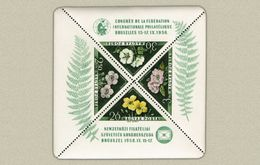 Hungary 1958. FIP - Flowers Sheet FERF.: 11. MNH (**) Michel: Block 29 C / 60 EUR - Ungebraucht
