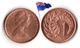 Nouvelle-Zélande - 1 Cent 1971 (UNC) - New Zealand
