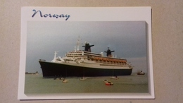 """LE """"NORWAY"""" (ex-France) - Steamers"""