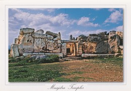 POSTCARDS OF MALTA /  MNAJDRA TEMPLE - Malta