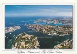 POSTCARDS OF MALTA / VALLETTA - SLIEMA - AND THE THREE CITIES - Malta