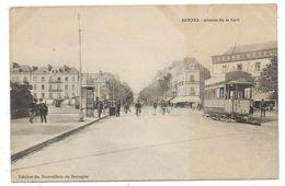 CPA - RENNES, AVENUE DE LA GARE - Ille Et Vilaine 35 - Animée - Edit. Nouvelliste De Bretagne - Petite Déchirure Haut - Rennes