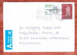 Brief, MiF Leuven U.a., Charleroi Nach Leonberg 2016 (45757) - Briefe U. Dokumente
